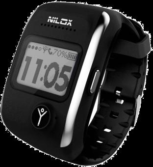 Nilox Bodyguard - Smartwatch - SOS Button - noir