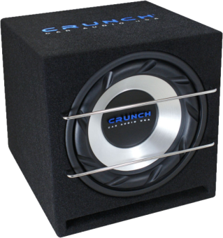 CRUNCH CRB350 - Subwoofer - 700 W - Nero