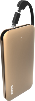Kanex GoPower Plus - Batteria portatile - 8000 mAh - Oro