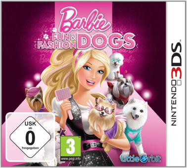 Barbie: Fun and Fashion Dogs, 3DS, allemand