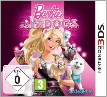 Barbie: Fun and Fashion Dogs, 3DS, deutsch