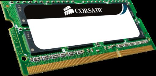 CORSAIR ValueSelect - Memoria principale - 2 GB (SO-DDR2 SDRAM / 800 MHz) - Verde/Nero