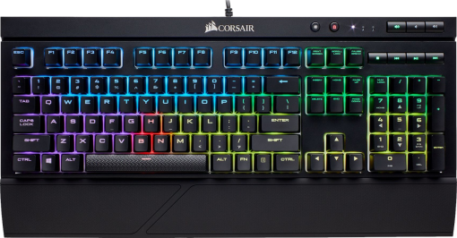 CORSAIR K68 RGB - Gaming Tastatur - CH Layout - Schwarz