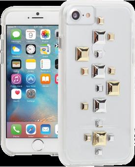 CASE-MATE Naked Tough Custom - Custodia per iPhone 7/6/6s - Con più di 250 adesivi - Trasparente