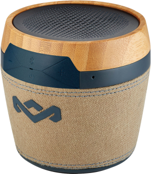 House OF Marley of Marley Chant Mini Navy - Bluetooth haut-parleur - + microphone - Brun Haut-parleurs Bluetooth