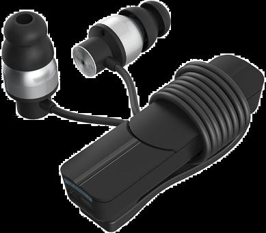 ZAGG IFROGZ Impulse - Cuffie In Ear - Bluetooth - Nero/Argento