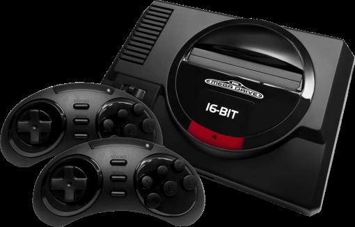 Sega Genesis Flashback - Console HD - Sortie Hdmi 720p - Noir