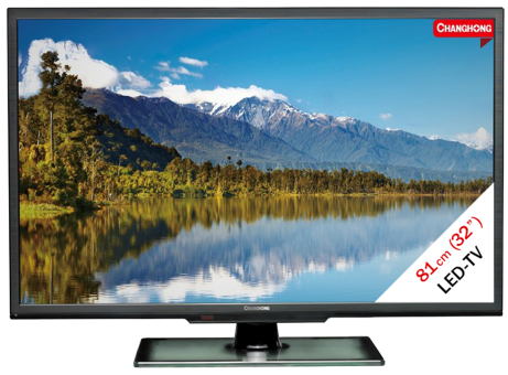 Changhong LED32C2200H, LCD/LED TV, 31,5, 100 Hz , schwarz