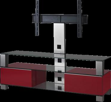 SONOROUS MD8143 - TV-Möbel - Empfohlene Bildschirmgrösse: - 50 - Schwarz/Rot