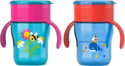 PHILIPS Avent - Tasse d'apprentissage - 260 ml - Multicolore