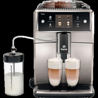 philips saeco xelsis sm7683 00 kaffeevollautomat touchscreen display schwarz edelstahl. Black Bedroom Furniture Sets. Home Design Ideas