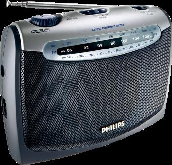 PHILIPS AE2160/00C - radio portatile - sintonizzazione analogica FM/MW - Nero / Argento
