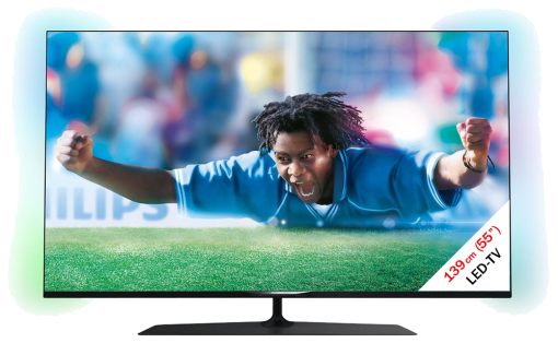 PHILIPS 55PUS7809/12, LCD/LED TV, 55, 600 Hz, Schwarz