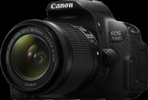 Canon EOS 700D, 18-55mm IS STM Kit, 18 MP, Schwarz