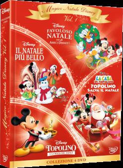Magico Natale Disney Vol. 1, DVD