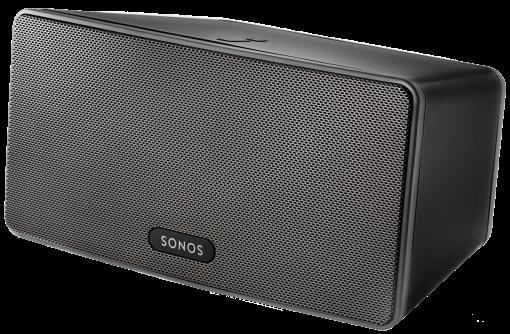 Sonos Play 3, noir WLAN-Speaker pour de la musique en streaming Noir