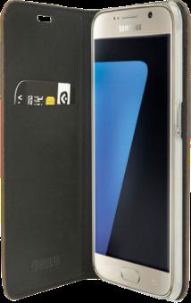 VALENTA Classic Style - Per Galaxy S7 - Scuro marrone