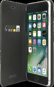 VALENTA Booklet Classic Style - pour iPhone 7 Plus - noir