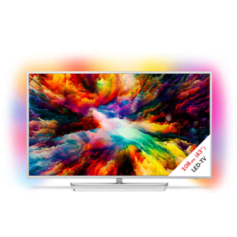philips 43pus7363 12 lcd led tv 4k display 43 108 cm uhd silber g nstig kaufen 40. Black Bedroom Furniture Sets. Home Design Ideas