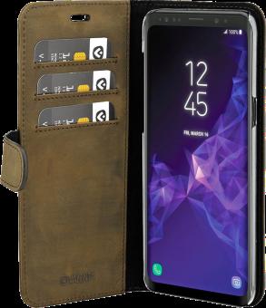 VALENTA Classic Luxe - Per Samsung Galaxy S9+ - Marrone