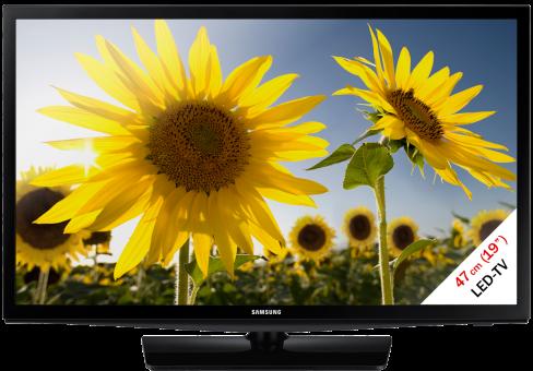 SAMSUNG UE19H4000AWXZG, LCD/LED TV, 19, 100 Hz, Schwarz