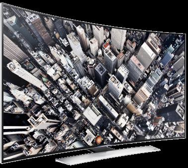 SAMSUNG UE65HU8580QXZG, LCD/LED TV, 65, 1200 Hz, Schwarz/Silber