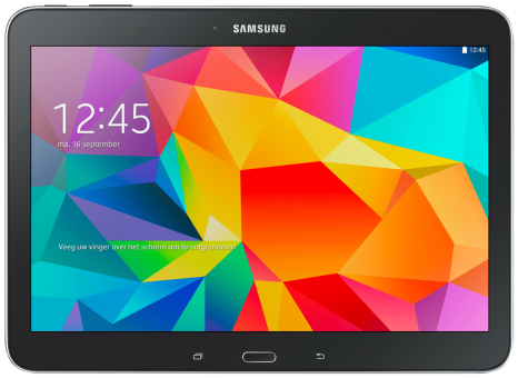 SAMSUNG Galaxy Tab4 10.1, 16 GB, schwarz