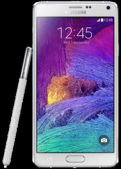 SAMSUNG Galaxy Note 4, 32 Go, blanc