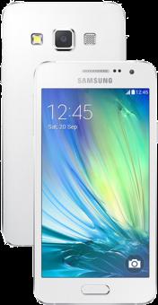 SAMSUNG GALAXY A3, blanc