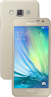 SAMSUNG GALAXY A3, gold