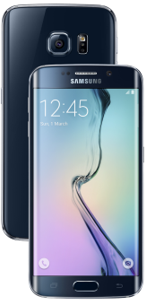 Samsung Galaxy S6 Edge, 128GB, schwarz