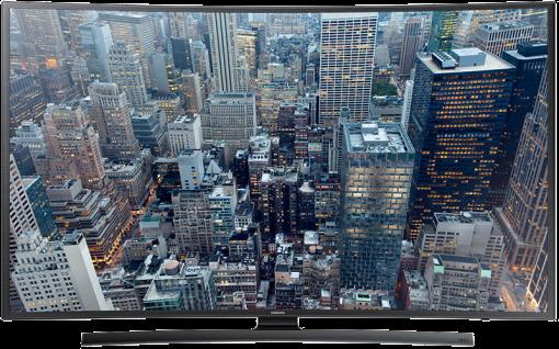 SAMSUNG UE65JU6570UXZG, LCD/LED TV, 65, 1100 Hz, schwarz