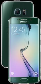 Samsung Galaxy S6 Edge, 64GB, grün