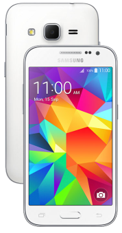 Samsung Galaxy Core Prime - Android Smartphone - 8 GB - Weiss