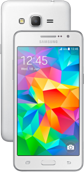 Samsung  Galaxy Grand Prime - Android Smartphone - 8 GB - Weiss