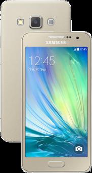 Samsung  Galaxy A3 Dual SIM, 16GB, gold