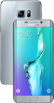 Samsung Galaxy S6 Edge + - Android Smartphone - 64 GB - Silber