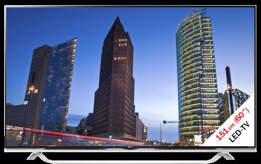 LG 60UF852V, LCD/LED TV, 60, 2000 Hz, schwarz/weiss
