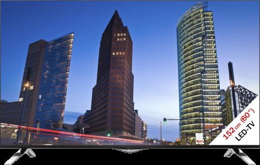 LG 60UF695V, LCD/LED TV, 60, 1200 Hz, schwarz/silber