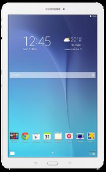 SAMSUNG Galaxy Tab E, 9.6, WiFi, 8GB, weiss