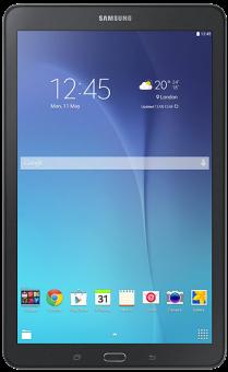 SAMSUNG Galaxy Tab E, 9.6, WiFi, 8GB, schwarz