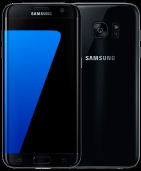 SAMSUNG Galaxy S7 Edge - Android Smartphone - 32 GB - Schwarz
