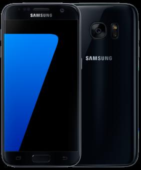 SAMSUNG Galaxy S7 - Android Smartphone - 32GB - Schwarz