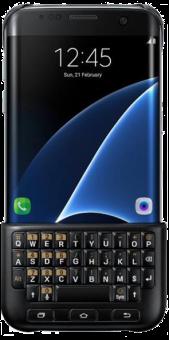 SAMSUNG Keyboard Cover S7 Edge, nero
