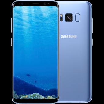Samsung Galaxy S8+ Smartphone 64 GB Bleu corail