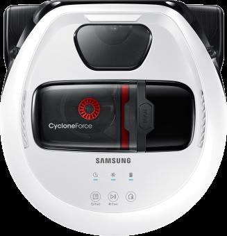 Samsung VR10M7019UW/SW - Robot aspirapolvere - 80 Watt - Bianco