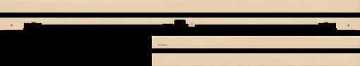 SAMSUNG VG-SCFM65LW/XC - TV Rahmen - Für The Frame (65) - Beige Holz
