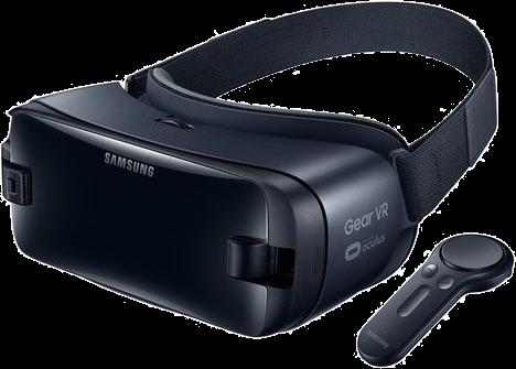 Samsung - VR Headset + Contrôleur - Pour Smartphone - Noir Lunettes de réalité virtuelle pour Smartphones