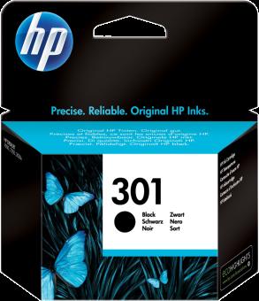 HP 301, noir Noir