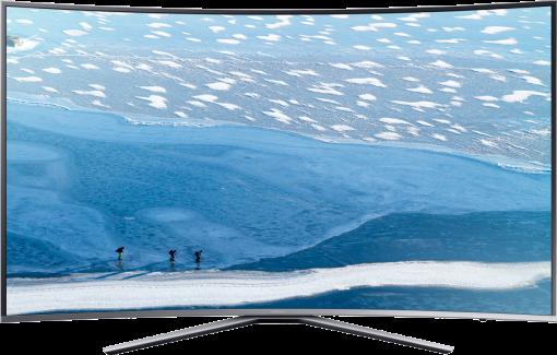SAMSUNG UE55KU6500UXZG, LCD/LED TV, 55, 1600 Hz, Silber